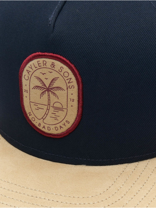 Cayler & Sons Snapback Caps No Bad Days niebieski