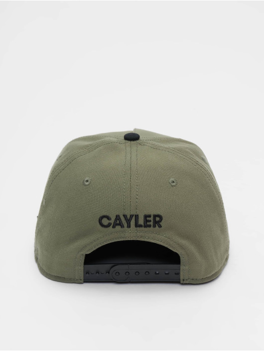Cayler & Sons Snapback Caps WI 2pac Rollin oliven