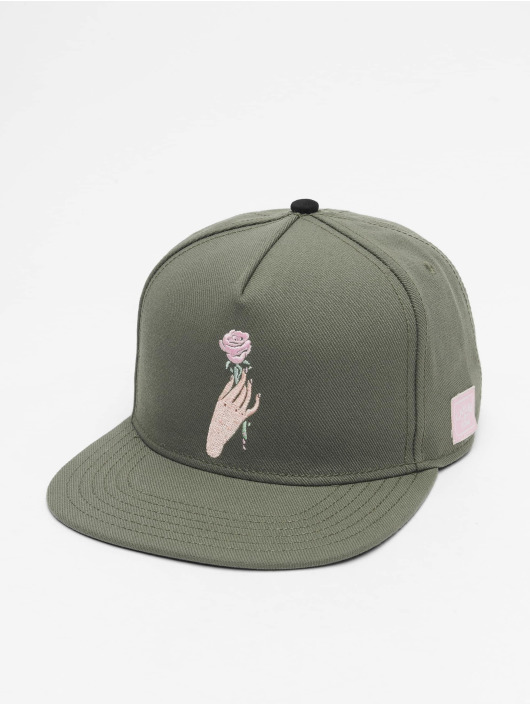 Cayler & Sons Snapback Caps WL Love Me Not oliwkowy