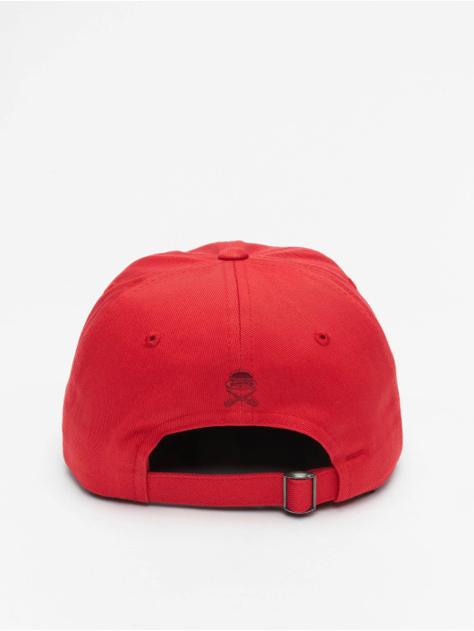 Cayler & Sons Snapback Caps WL Six Forever Curved punainen