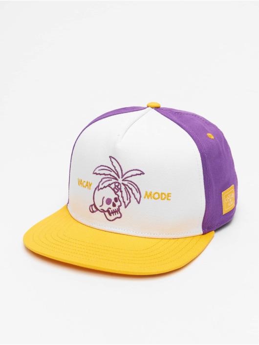 Cayler & Sons Snapback Caps WL Vacay Mode purpuranpunainen