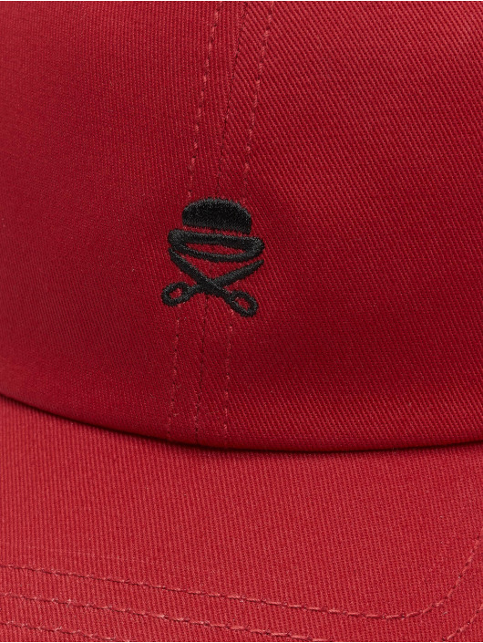 Cayler & Sons Snapback Caps PA Small Icon Curved red