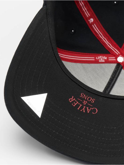 Cayler & Sons Snapback Caps Take Stance svart