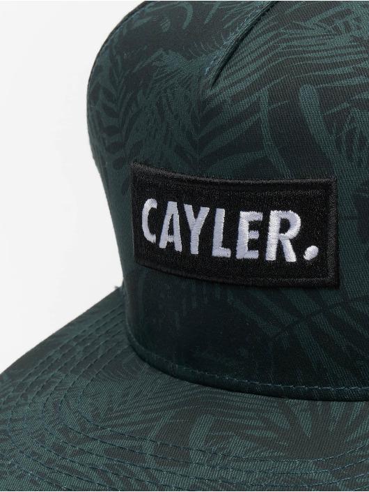 Cayler & Sons Snapback Caps Statement zelený