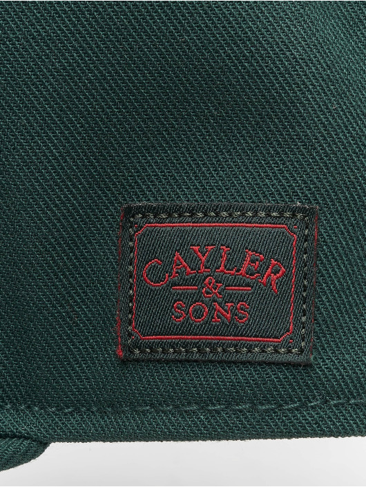 Cayler & Sons Snapback Caps Wl Royal zielony
