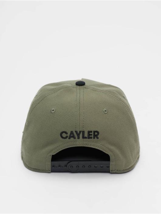 Cayler & Sons Snapback WI 2pac Rollin olivová