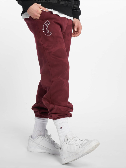 Cayler & Sons Spodnie do joggingu Blackletter czerwony