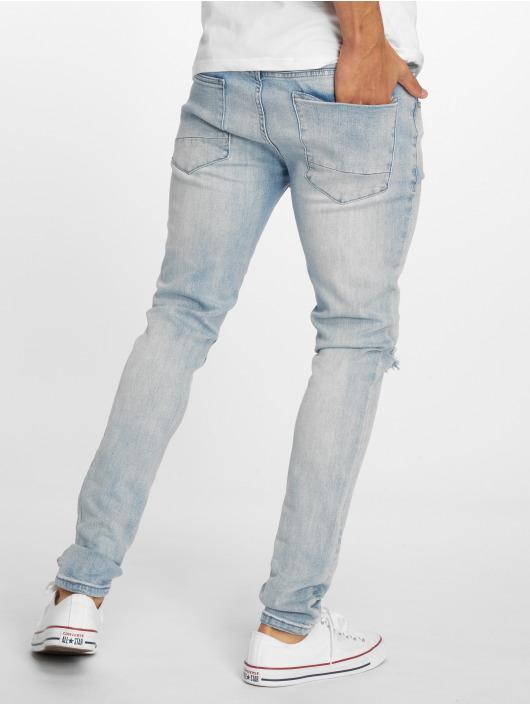 Cayler & Sons Straight Fit Jeans Alldd Team Ren blå