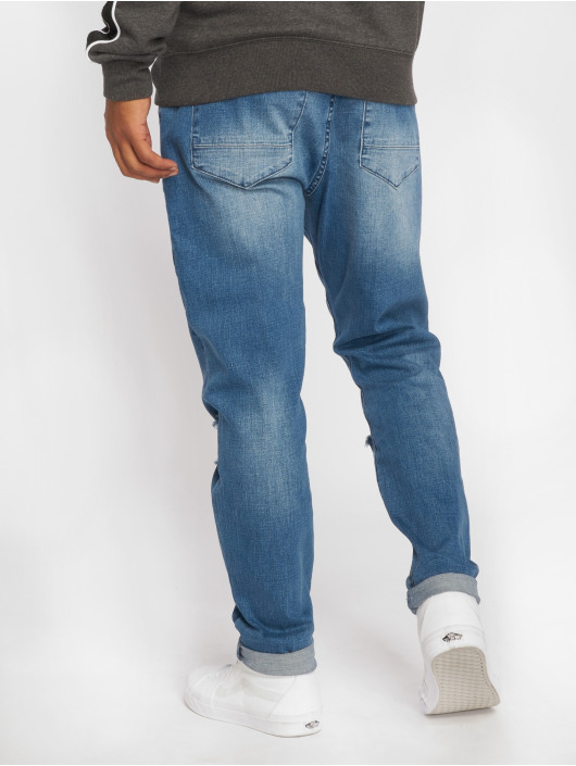 Cayler & Sons Straight Fit Jeans Tim fit blå