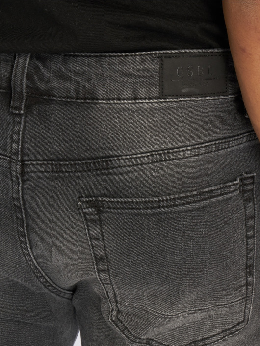 Cayler & Sons Straight Fit Jeans Alldd Broken Biker Ian black