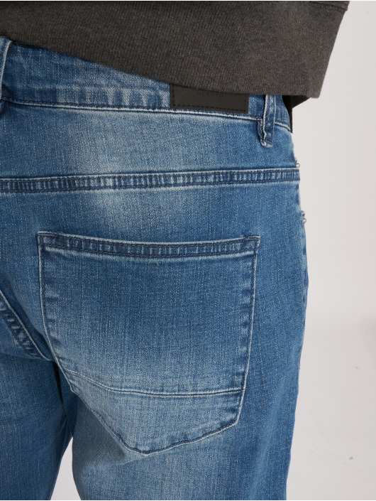 Cayler & Sons Straight Fit Jeans Tim fit blau
