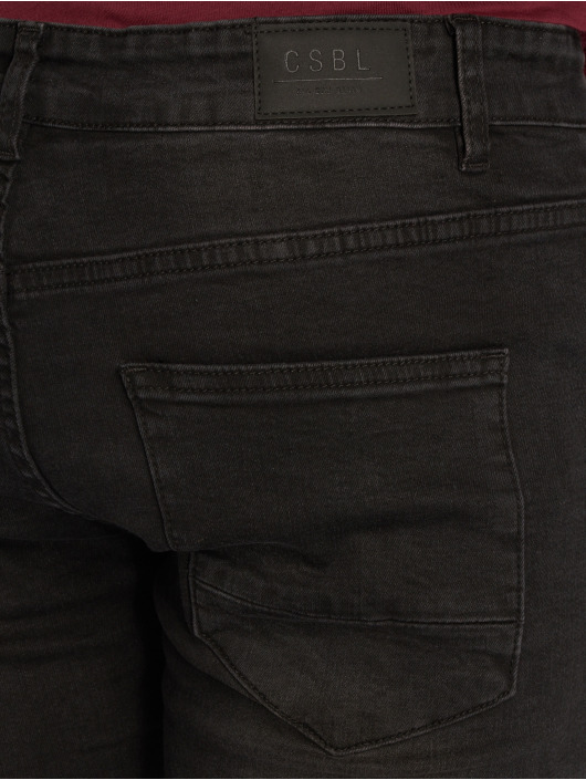 Cayler & Sons Straight Fit Jeans Alldd Team Ren schwarz