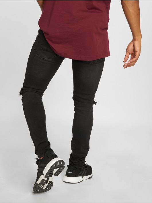 Cayler & Sons Straight Fit Jeans Alldd Team Ren svart