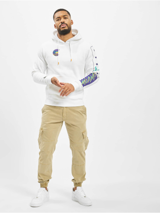 Cayler & Sons Sweat capuche Miami Vibes blanc