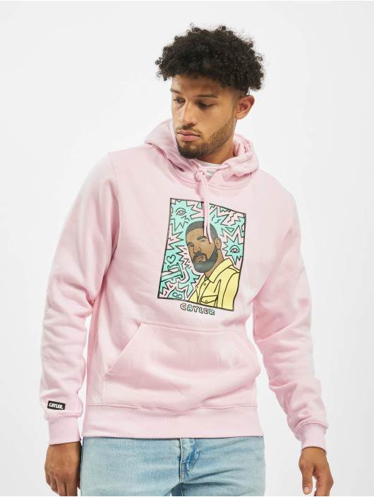 Cayler & Sons Sweat capuche WL Northern Lines Pale magenta