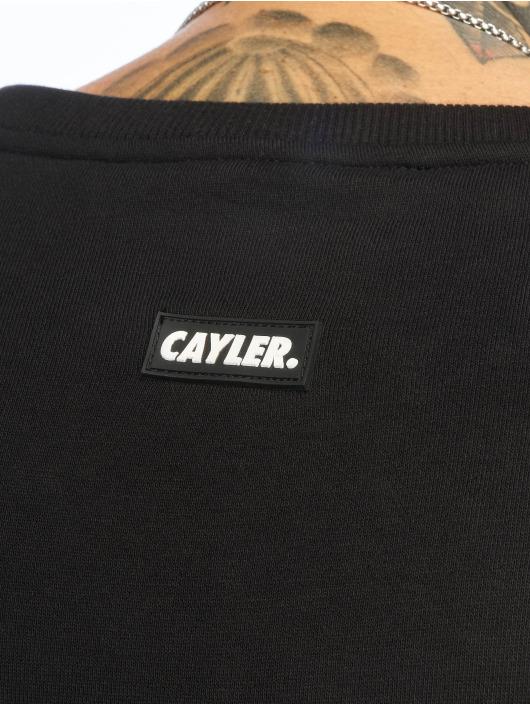 Cayler & Sons Swetry Bon Voyage Crewneck czarny