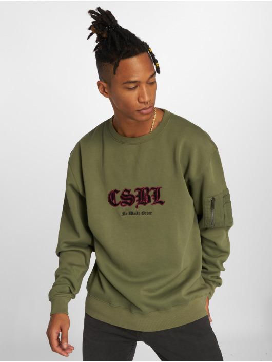 Cayler & Sons Swetry Csbl oliwkowy