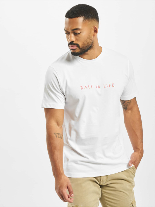 Cayler & Sons T-shirt Ball Is Life bianco