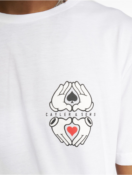 Homme T White Cayleramp; All 595933 In Sons Blanc shirt Label xBeQdCWro