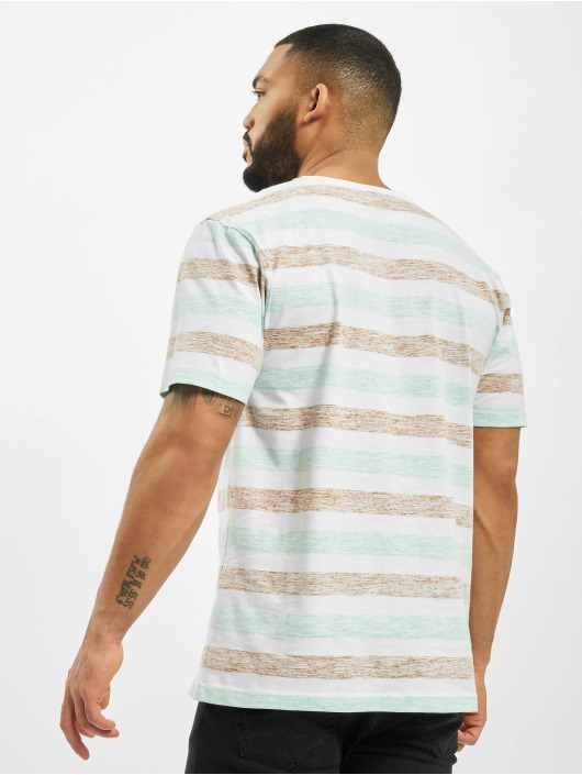 Cayler & Sons T-Shirty WL Inside Printed Stripes bialy