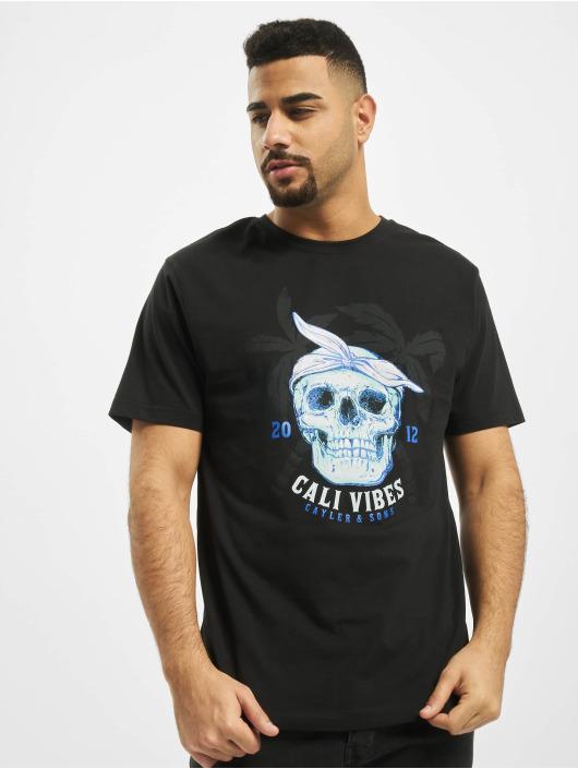Cayler & Sons T-Shirty WL Cali Skull czarny