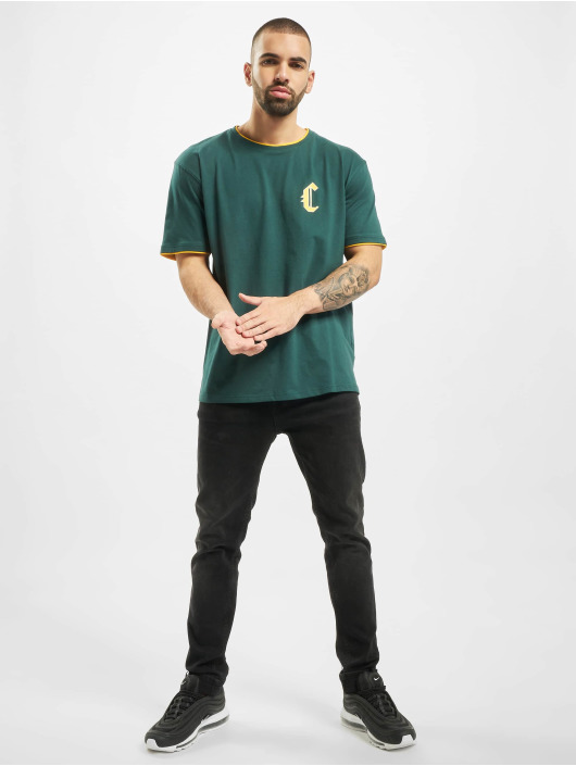 Cayler & Sons T-Shirty Blackletter Semi Box zielony