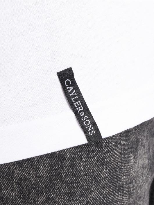 Cayler & Sons T-skjorter Uppercut hvit