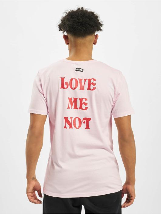 Cayler & Sons T-skjorter WL Love Me Not Pale lyserosa
