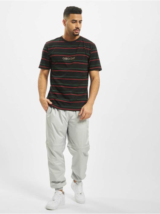 Cayler & Sons T-skjorter WL Good Day Stripe svart