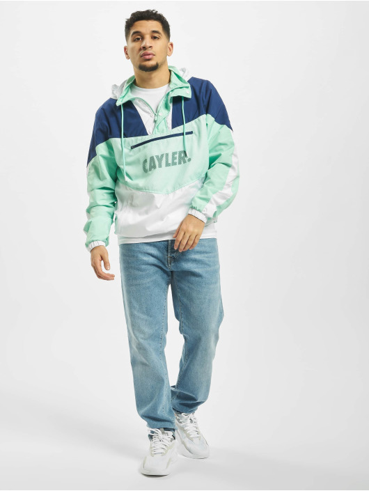 Cayler & Sons Transitional Jackets WL Ocean Vida Half Zip grøn