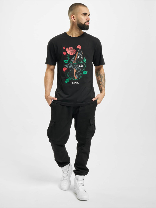 Cayler & Sons Tričká Wl Defensive Bloom Tee èierna