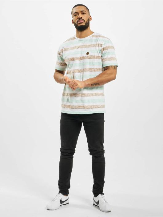 Cayler & Sons Tričká WL Inside Printed Stripes biela