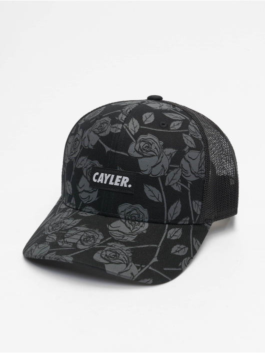 Cayler & Sons Trucker Cap Statement Black Roses black
