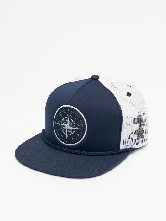 Cayler & Sons Trucker Cap Navigating Foam blue