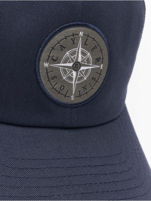 Cayler & Sons Trucker Cap CL Navigating Curved blue