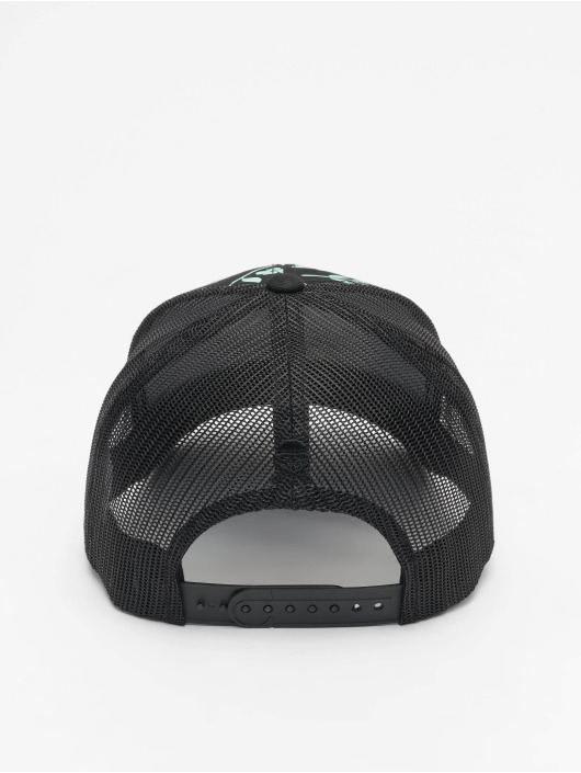 Cayler & Sons Trucker Caps WL Statement Leaves N Wires Curved czarny