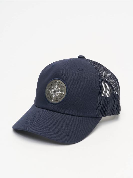 Cayler & Sons Trucker Caps CL Navigating Curved niebieski