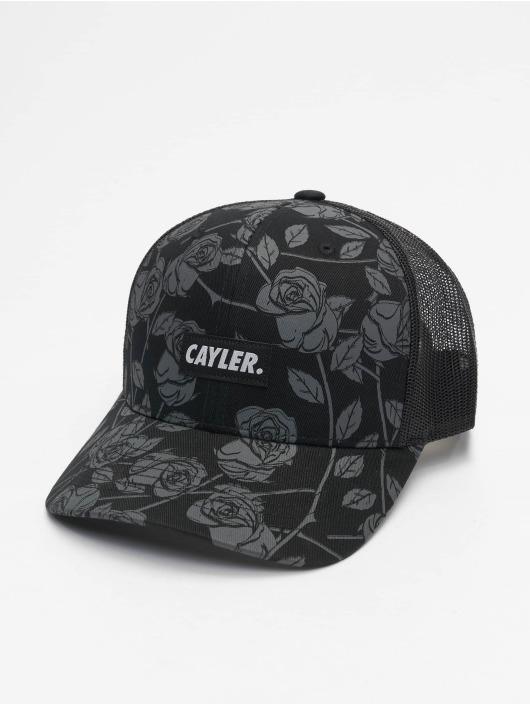Cayler & Sons Trucker Caps Statement Black Roses svart