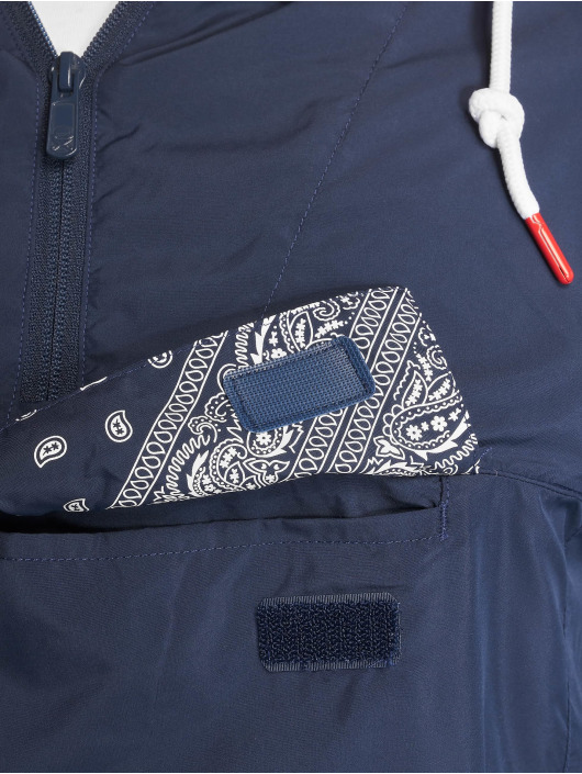 Cayler & Sons Übergangsjacke Westcoast Half Zip blau