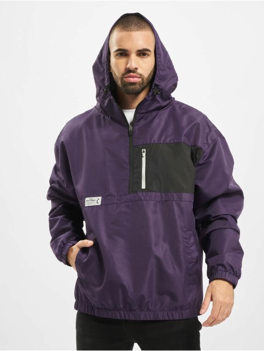 Cayler & Sons Übergangsjacke Form Half Zip violet