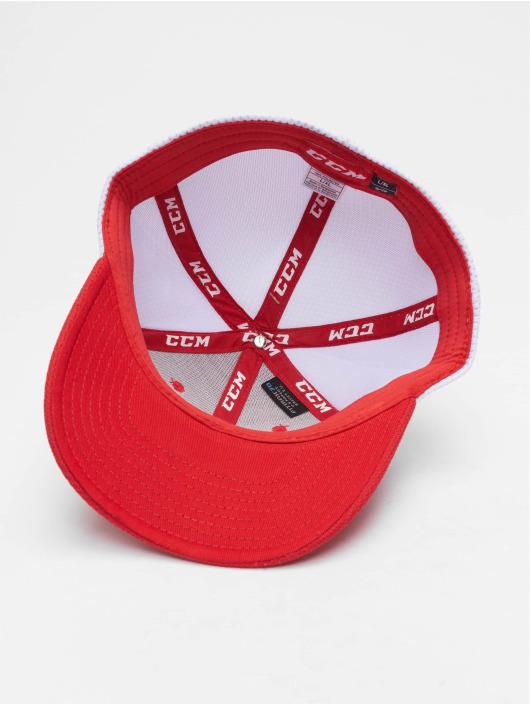 CCM Fitted Cap Team Structured Mesh Flex rot