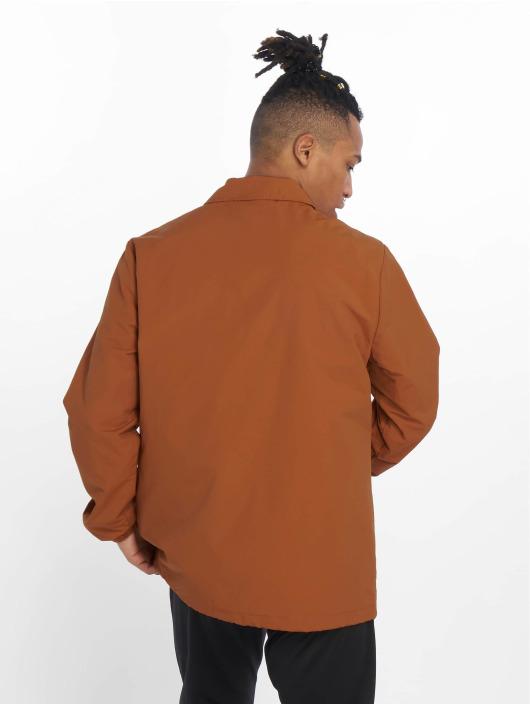 Champion Демисезонная куртка Coach коричневый