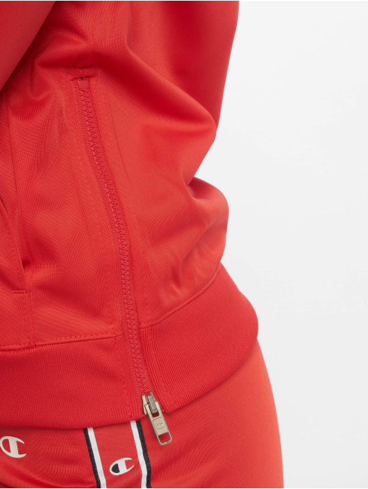 Champion Athletics Dresy Full Zip czerwony