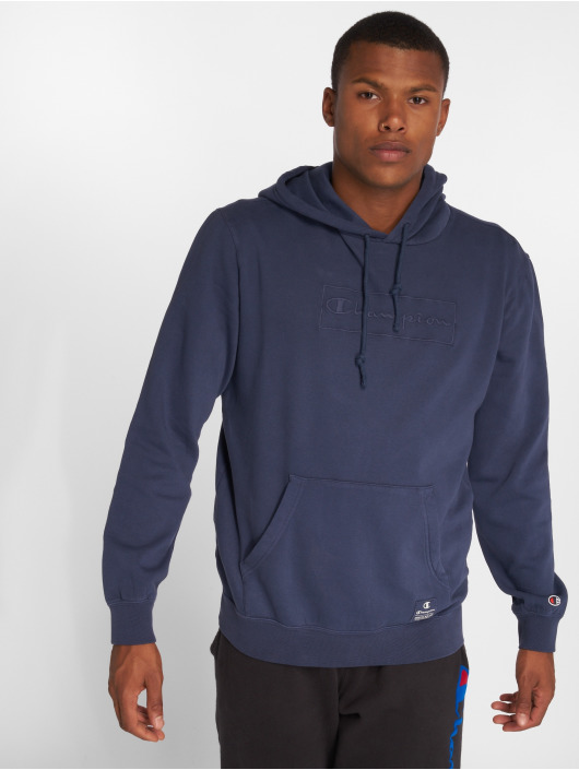 Champion Athletics Hoodie Logo blue
