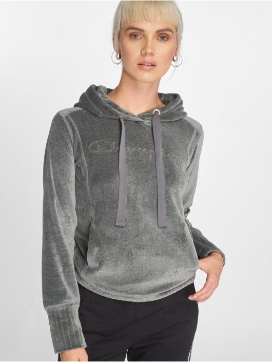 Champion Athletics Hoodie Lounge Mode grey