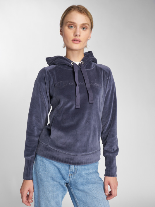 Champion Athletics Hoody Lounge Mode blau