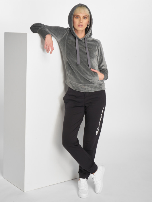 Champion Athletics Hoody Lounge Mode grau