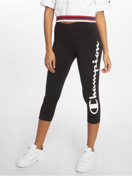 Champion Athletics Leggings/Treggings BigLogo czarny
