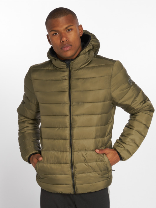 Champion Athletics Puffer Jacket Outdoor green