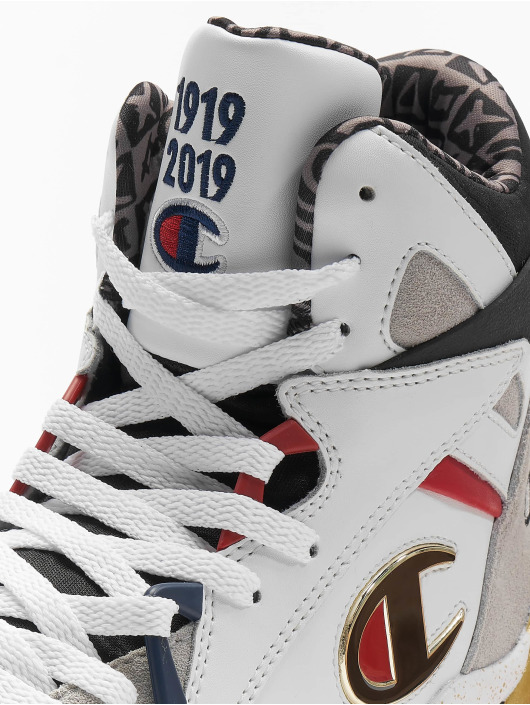 Champion Athletics Sneakers High Cut Zone High Top Century Fami bialy